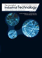 วารสารวิชาการเทคโนโลยีอุตสาหกรรม : มหาวิทยาลัยราชภัฏสวนสุนันทา The Journal of Industrial Technology Suan Sunandha Rajabhat University ปีที่ 7 ฉบับที่ 2 เดือนกรกฎาคม - ธันวาคม ประจำปี 2562